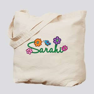 Sarahi Flowers Tote Bag